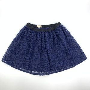 Johnnie B Boden Embroidered Tulle Skirt